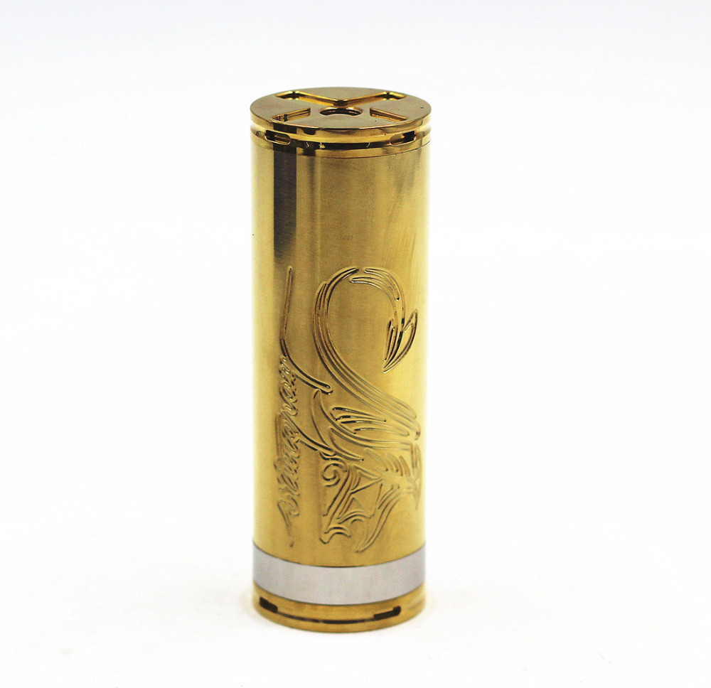 Stingray 30mm Mechanical Mech Mod 26650 Battery Body Tube Stainless Steel Vaporizer Vapor Vape Pen Nemesis King