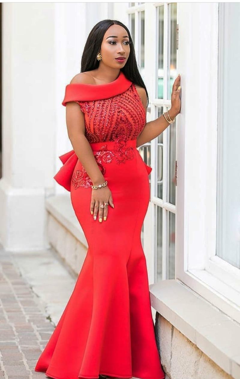2019 New Elegent Fashion Style African Women Plus Size Polyester Long Dress L-XXL