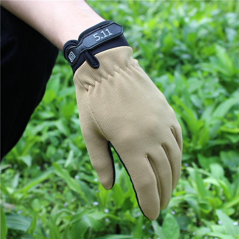 2019 Summer Man Full Finger Gloves Non-slip Section Tactical Breathable Outdoor Tool Mountaineering Riding Climbing Accessory