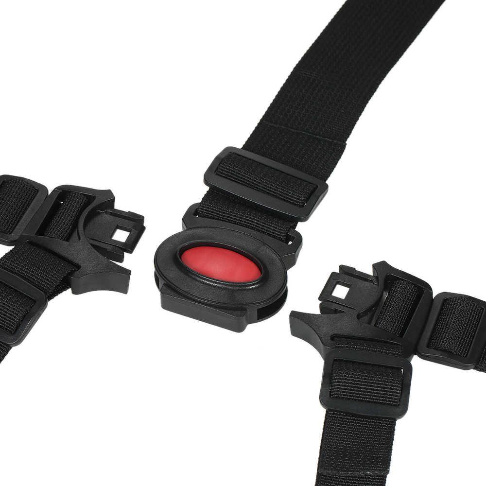 5-точечный универсальная черная подпруга детское сиденье безопасности Ремни для высокое сиденье для коляски для малышей и детей постарше безопасный защитный ремень для коляски