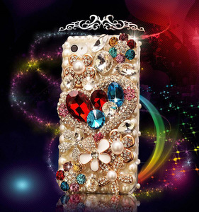 Image 2 - Sang trọng Bling Kim Cương Ốp Lưng điện thoại Huawei Honor 7X 7C 7A 8 9 10 Lite 8X Max 8A Pro Kim Cương Giả crystal Cover Fundas Coque