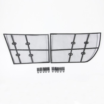 Wtfs Stainless Steel ABS Insect Grille Mesh Grill Inserts Insect Net Insect-Proof Net for Mercedes-Benz Vito [QP1141]