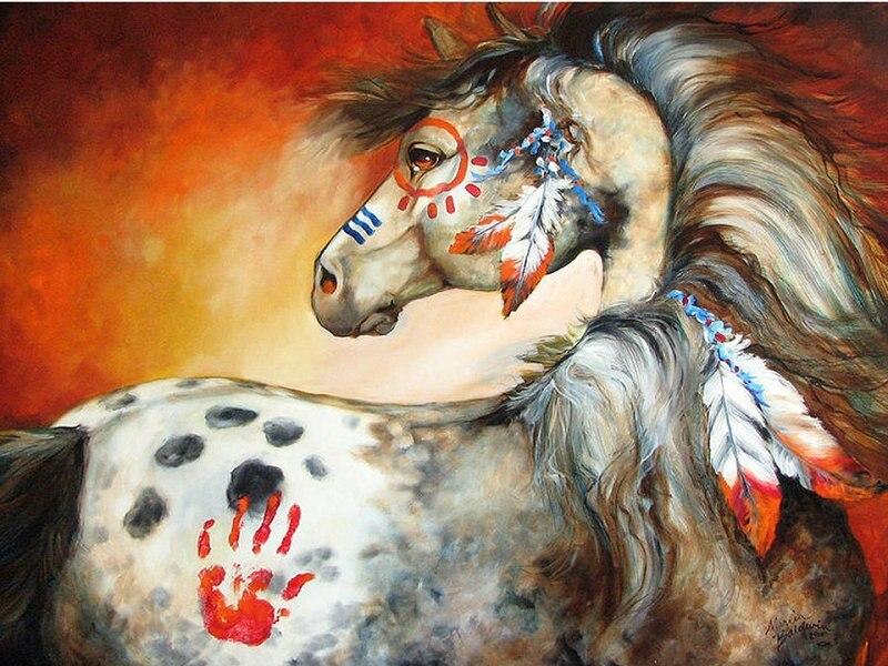 5d diy diamond painting cross stitch horse stickers mosaic diamond embroidery handmade hobbies crafts diamant painting art