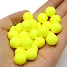 30pcs/Box Pop Ups Carp Fishing Bait Boilies Flavors 12mm Floating ball beads feeder Artificial Carp baits lure/ hair rig