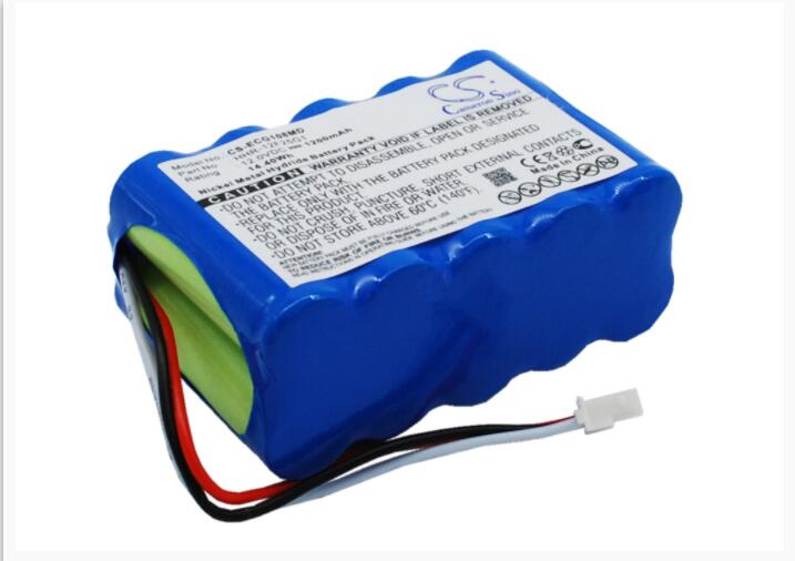 Aspirante Cameron Sino 1200 Mah Batteria Per Kenz Cardico Ecg-108 Hhr-12f25g1 Medical Batteria Rinvigorire Efficacemente La Salute