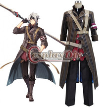 Cosplaydiy The Legend of Heroes Sen no Kiseki II Crow Armbrust Cosplay Costume For Adult Halloween Custom Made D0803