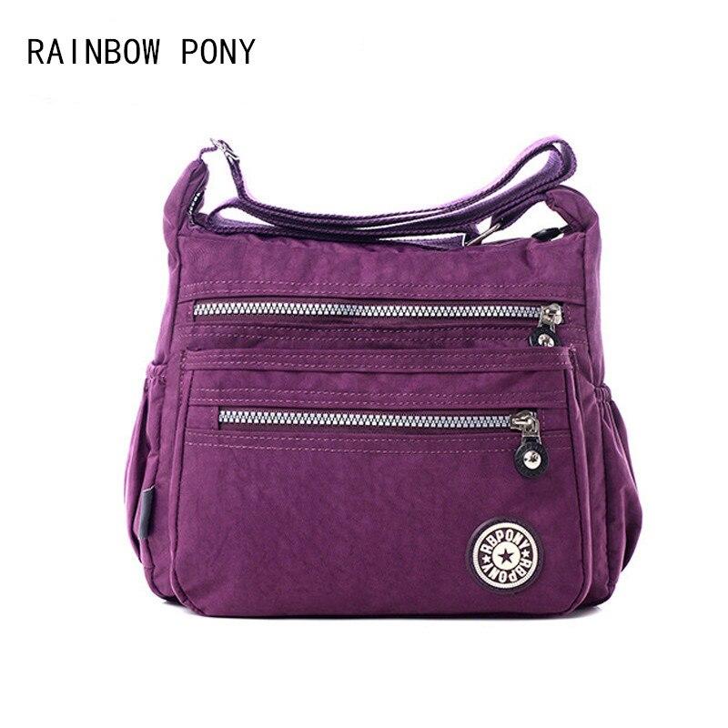 Rainbow Pony Las Handbags 2017 New Women Shoulder Bag Waterproof Nylon Bolsa Feminina Messenger Bolsos Zz003 In Bags From Luggage