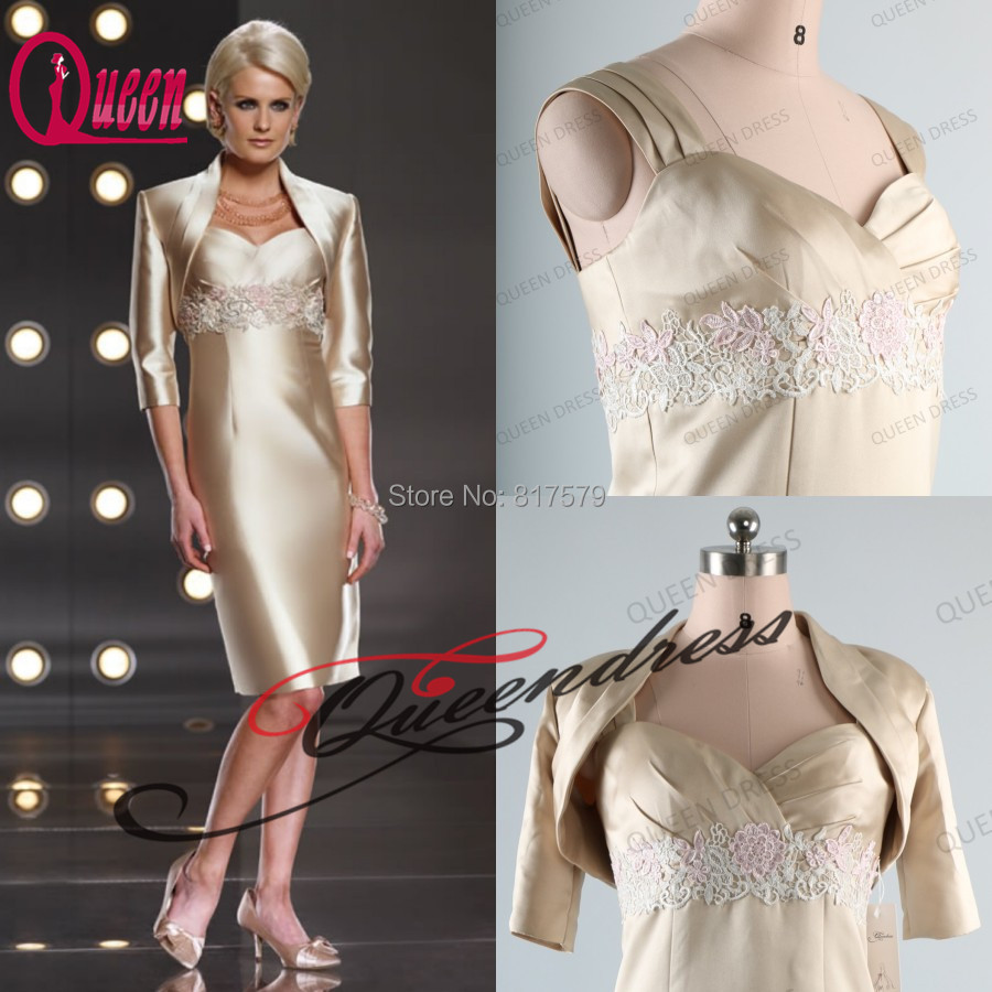 Simple And Elegant White Satin Sweetheart With Jacket: Aliexpress.com : Buy Real Picture Sweetheart With Lace