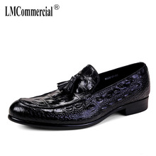 British luxury men leisure fashion black business shoes all-match cowhide Mens Dress Shoes High Quality Genuine Leather