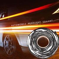 10MM Car Windshield Rubber Seal Strip Lens Butyl Sealant 13FT Headlight