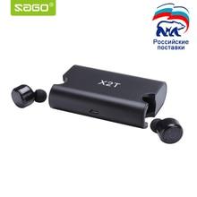 Sago X1T X2T mini wireless font b earphone b font noise canceling headphone bluetooth headset with