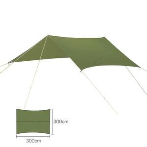 Image 5 - Ultralight Outdoor Portable Hammock Awning Hanging Tent Wear resisting Large Multi functional Mat Folding UV Proof Waterproof