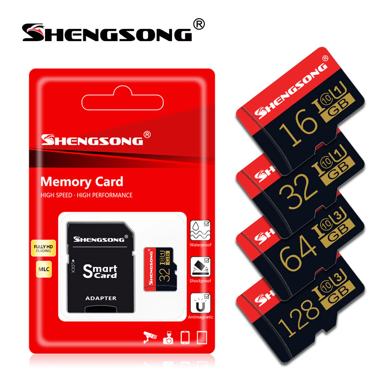 Best Brand micro sd 8GB 16GB 32GB 64GB memory card micro sd card cartao sd TF card free adapter for Phone/laptop/Camera(China)