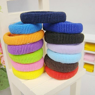 TS013 Fashion Hot Colors Elastic Hair Band Jewelry Wholesale 100PCS/Lot Hairwear Mixed Order Colors