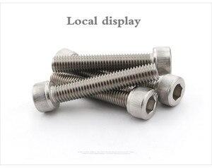 Image 3 - 1000 개/몫 DIN912 M1.6 * 8 A2 스테인레스 스틸 육각 소켓 헤드 캡 나사