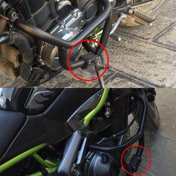 Nordson 25mm ochrona straż zderzak dekoracyjne blok silnika motocykla zmodyfikowany Crash Bar dla BMW R1200GS LC ADV F700GS F800GS tanie i dobre opinie Obejmuje listew ozdobnych Suzuki Uniwersalny Honda Harley-davidson Kawasaki Yamaha DUCATI Motorcycle Engine Guard Protection Bumper