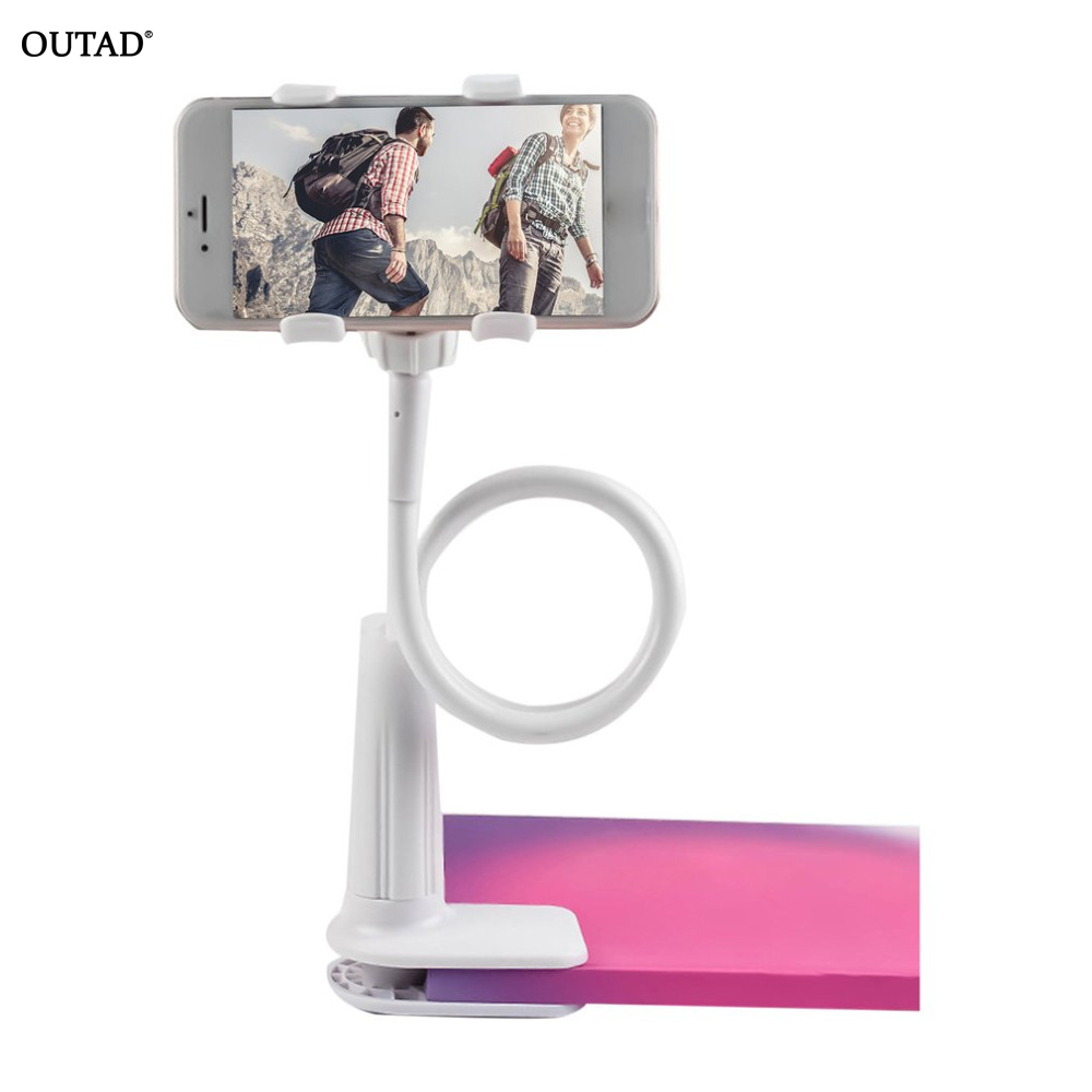 Flexible Desk Table 360 Degrees Stand Tablet Holder Mount for IPhone Xr Xs Max