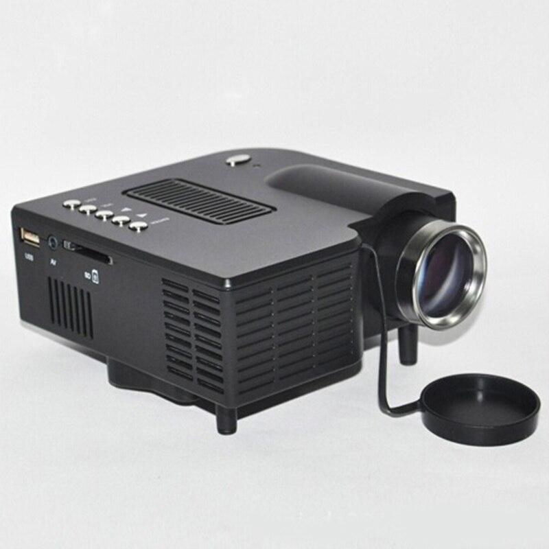UC28 + Proyector digital de Videojuegos TV Movie JEDX Casa HDMI VGA AV puerto le