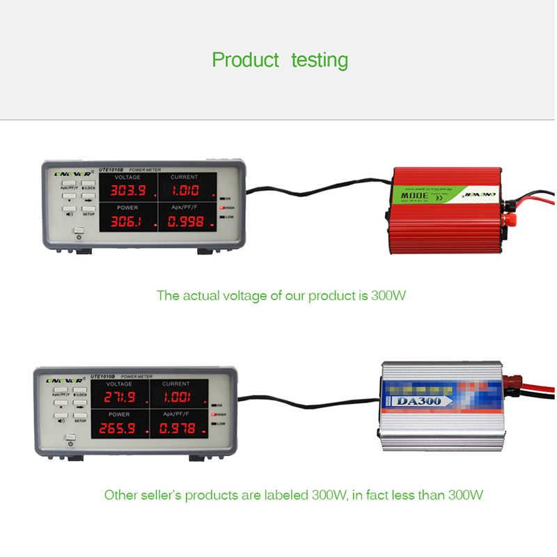 Onever מהפך 12v 220v 300W כוח מהפך עם USB הכפול טעינה לרכב ממיר 12v כדי 220v 50Hz שנאי מתאם לשקע