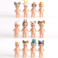7cm 12PCS Set Sonny Angel Animal Cupid Baby Doll Action Figure Collection PVC Model Kids Toys