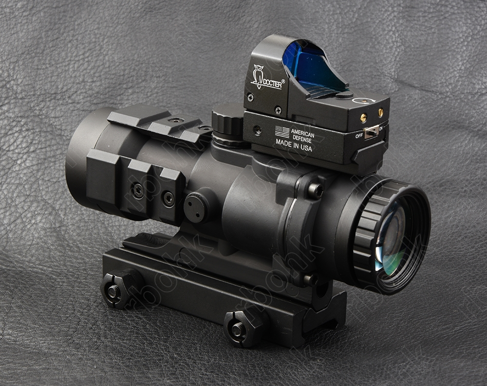 Tactical 3x32 rifle scope and 1x red dot sight scope for picatinny rail fir AR 15 AK 47 M7368 M7830 image