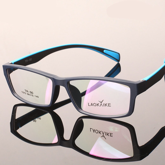 2016 TR90 Новый Женщины Очки Óculos Грау Ретро Очки Кадр Для Мужчин Спорт Близорукость Оправы Gafas