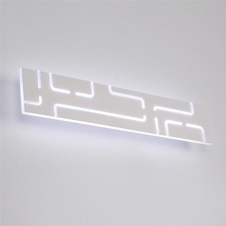 Светодиодный зеркало прямо спереди лампы Современные Простые Модные акрил гостиная hotel настенный светильник туалет стена ванной лампы ZH FG13