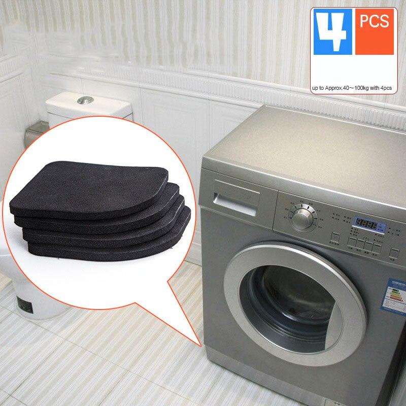 4pcs Multifunctional Anti Vibration Mat For Refrigerator Washing Machine Pads Non-slip Mats Refrigerator  Accessories
