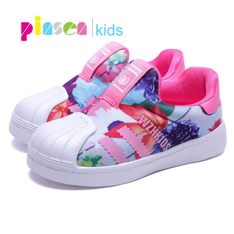 2019 Spring Kids Shoes For Girls Sneakers Boys Fashion Casual Children Shoes Girl Sport Running Child Shoes Chaussure Enfant(China)