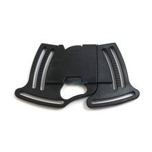 5pcs Release Buckle Paracord Sliders Fasteners Webbing Bracelet Backpack Plastic K7