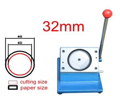 все цены на 32mm badge making circle cutter round shape paper cutting machine онлайн