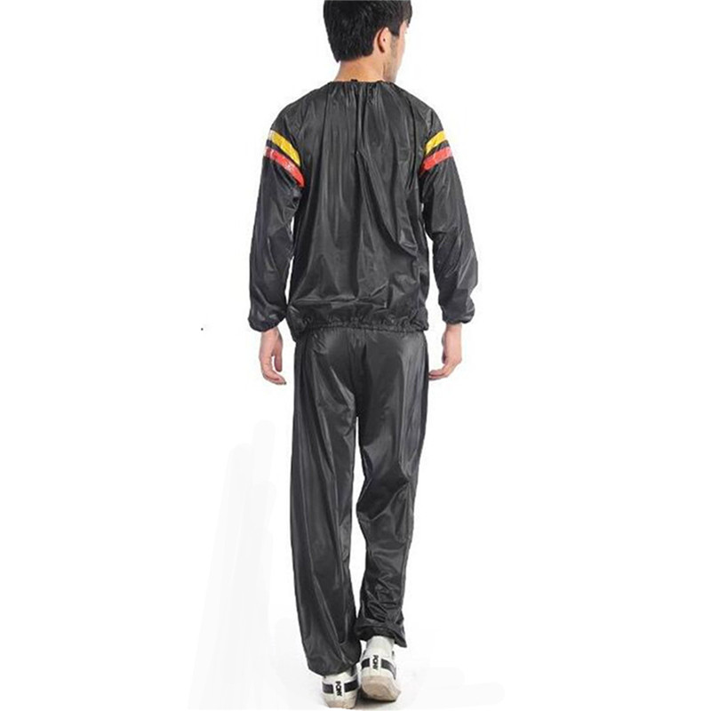 Hot Sale Fitness Loss Weight Sweat Suit Sauna Workout Suit Exercise Gym Training Slimming Sauna Clothes L XL XXL 3XL