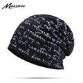 Тонкая мужская уличная спортивная ветрозащитная шапка на весну и осень, Повседневная модная шапка с английскими буквами, шапка в виде бобов