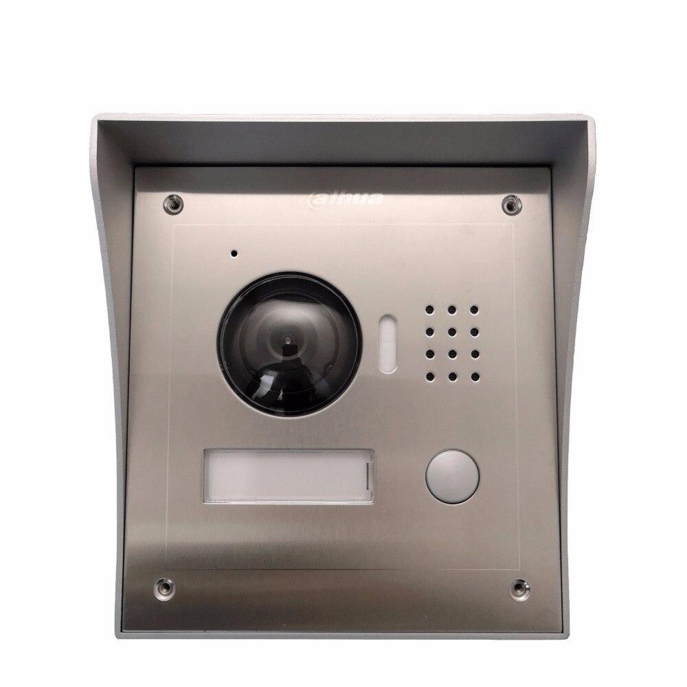 Ahua Multi-idioma VTO2000A Incluye caja de superficie o de caja IP Villa timbre Video intercomunicador IP de la puerta teléfono impermeable nube
