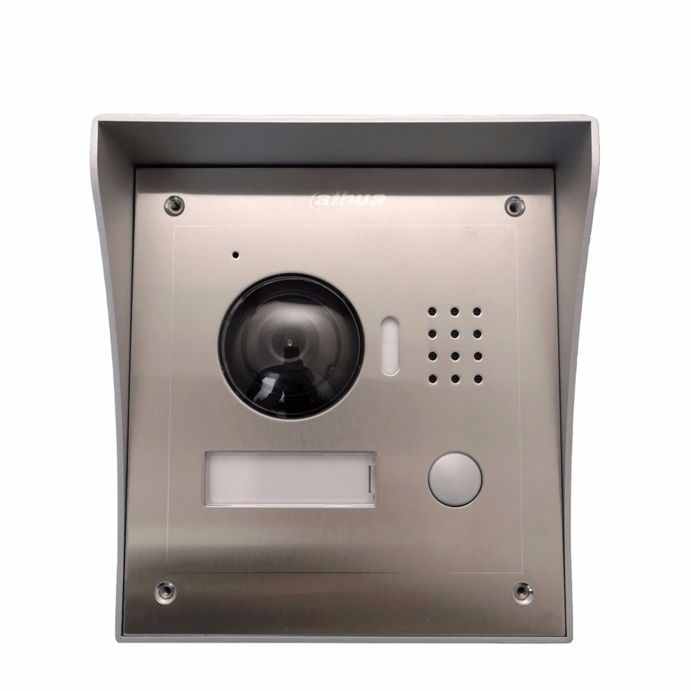 ahua Multi-Language VTO2000A Includes Surface box or Flush box IP Metal Villa Outdoor Station intercom Video Door Phone original ahua english version vth1510ch color monitor with vto2000a outdoor ip camera video intercom system with vtob108 box