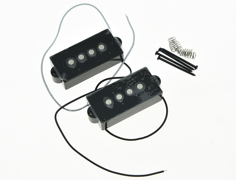 KAISH Black P Bass Pickup 8 0K Bass Pickups Set for 4 String Precision Bass Guitar