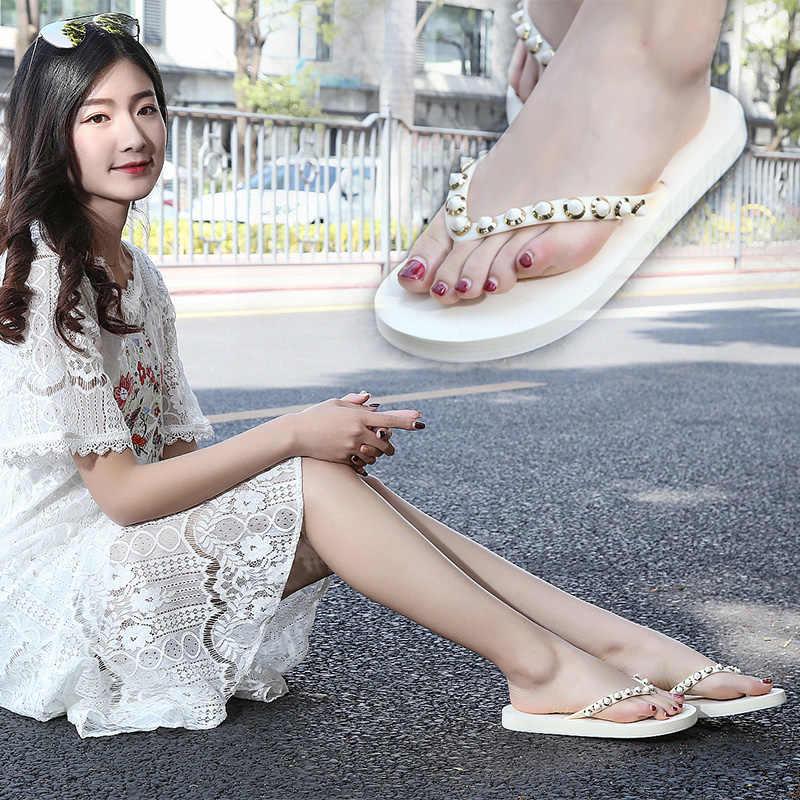 Zwart Rivert Vrouwen Slippers Zomer Strand Slippers Slippers Sandalen Vrouwen Mode Slippers Dames Flats Schoenen Vrouwelijke Slippers