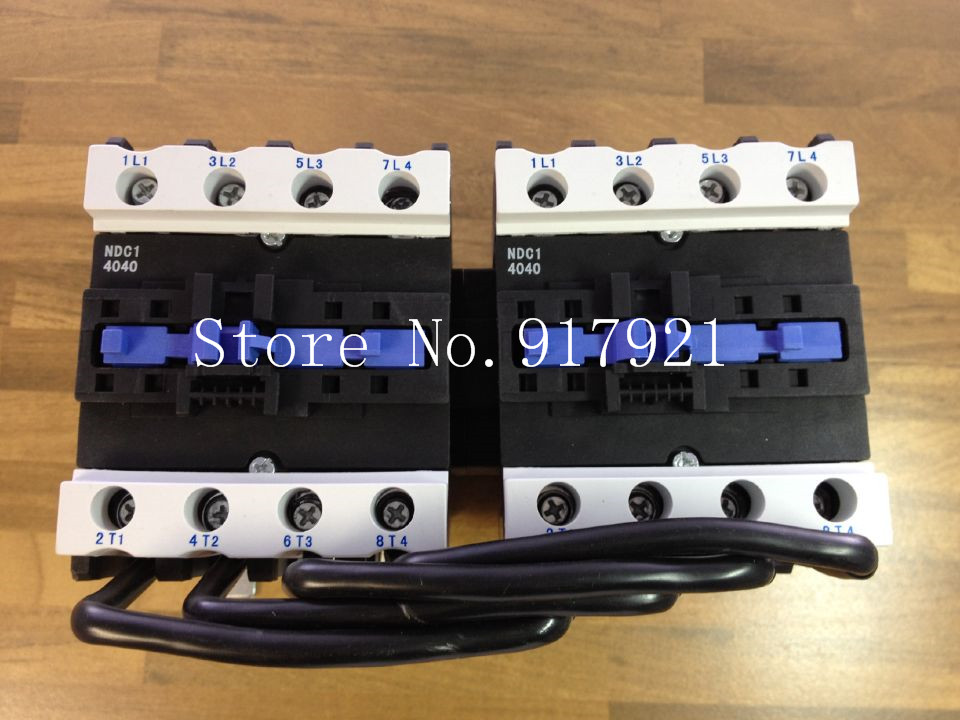 [ZOB] Nader letter NDC1 4040 reversible contactor 220VAC to ensure genuine