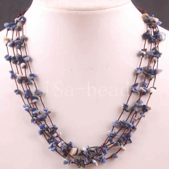 approx necklace lobster natural item inch sold per clasp sodalite strand