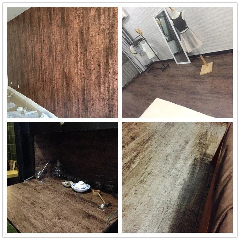 Woodgrainstickerselfadhesivepaperforfurniturewallpaper  3dfloorwaterproofwallpaperbathroomcontactjpg