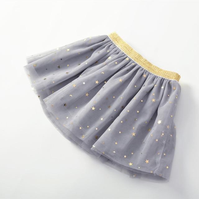Baby Girl's Skirt with Glitter Stars 4