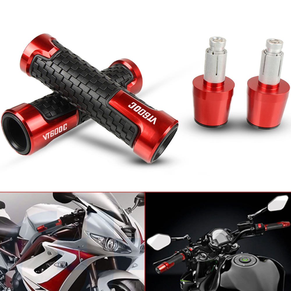For Honda VT600C VT 600C VT600 C 1998-2007 1999 2000 Accessories Motorcycles CNC Hand Grips Handlebar Grips And Bar Ends Weights