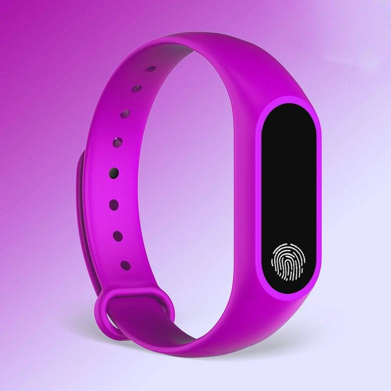 HTB1uZwbe21H3KVjSZFHq6zKppXae M2 Sport Bracelet Smart Band Heart Rate Watch Men Women Smartwatch For Android IOS Fitness Tracker Electronics Smart Clock