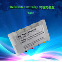 INK WAY T5852 Empty Chipped Refillable ink cartridge for  PictureMate PM210 PM250 PM270 PM310 PM410,10PCS ONE LOT