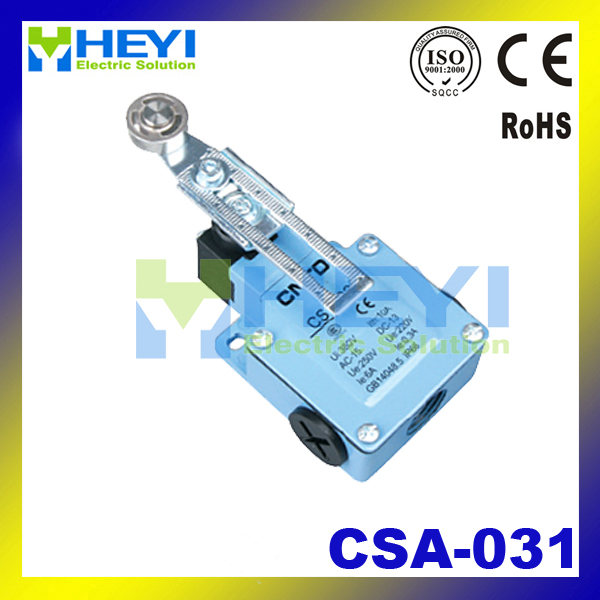 CNTD Supply Metal Shell Rollers Types of Electrical Limit Switch Micro switch Waterproof CSA-031