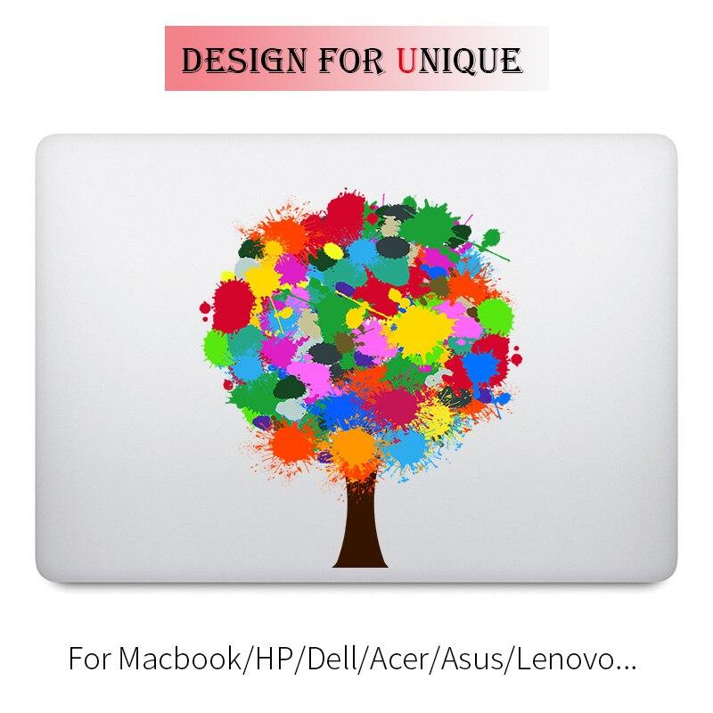 Rainbow Tree Colorful Laptop Sticker for font b Apple b font font b Macbook b font