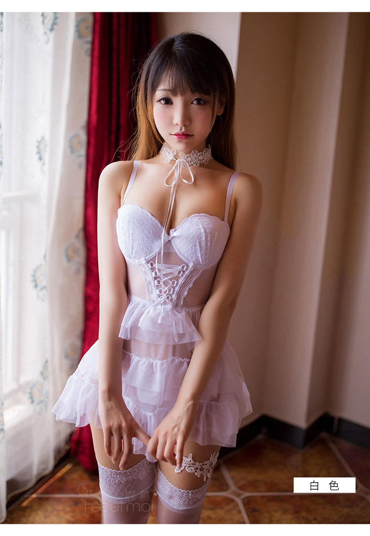 Sexy Women Lingerie Sexy Erotic Hollow Cute Sexy Princess Suit Cute Lingerie Lace Women's Bedroom Swimsuit