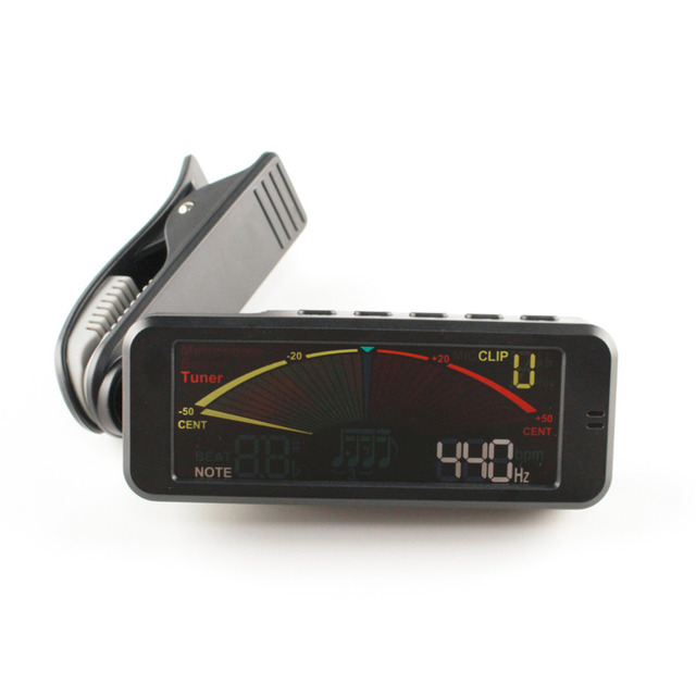 Portable Guitar Tuner Screen Digital Tuner With Clip Three In One On Design For Chromatic Guitar Bass Ukulele Violin MT-209