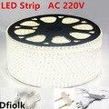 Светодиодная лента, 3014, 120 светодиодов/м, водонепроницаемая, IP65, с блоком питания, 1 м, 3 м, 5 м, 50 м, 100 м