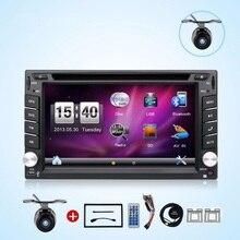 2 DIN Автомобильный Мультимедийный Плеер кассетный плеер CD SD RDS GPS Navi для автомобиля USB Сенсорный экран dvd-плеер 2DIN